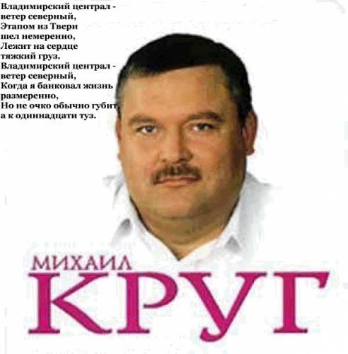 Альбом Михаил Круг: Песни о любви.